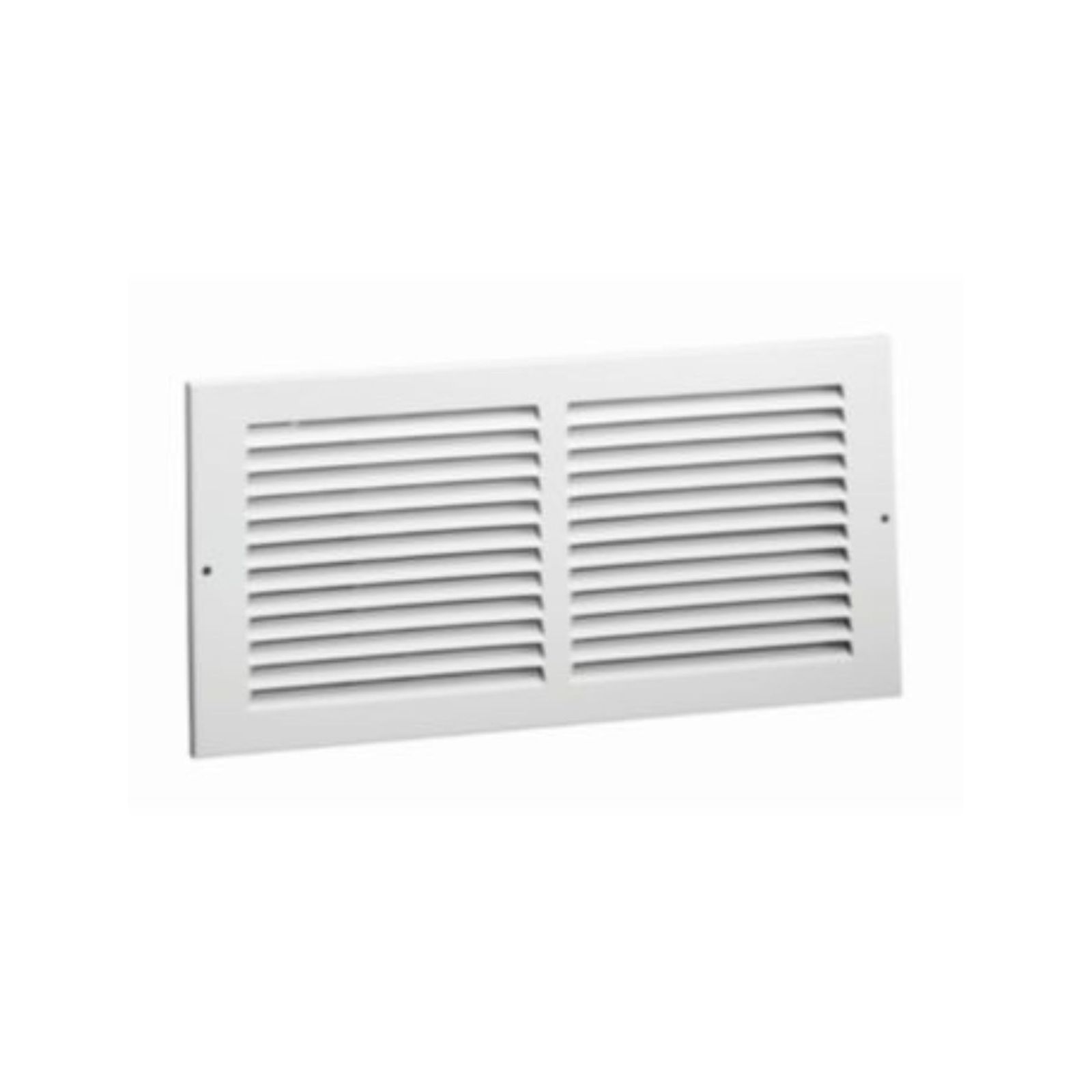 "RAG1425 - Stamped Face Return Grille, White Finish, 16"" X 6"""