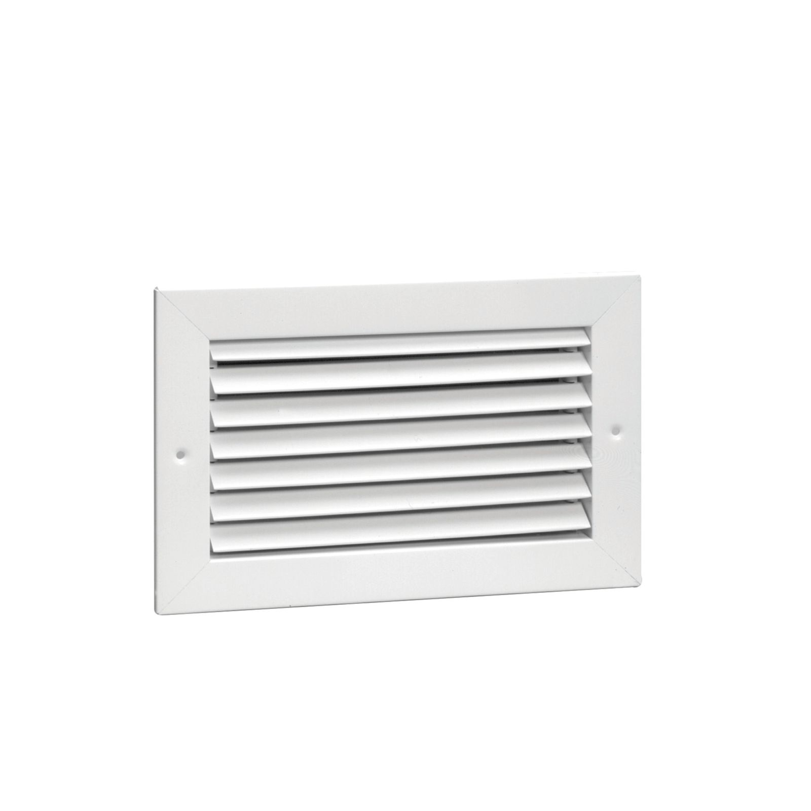 "Hart & Cooley 011803 - Steel Return Air Grille, 35-Degree Horizontal Fixed Blade, White Finish, 24"" X 20"""
