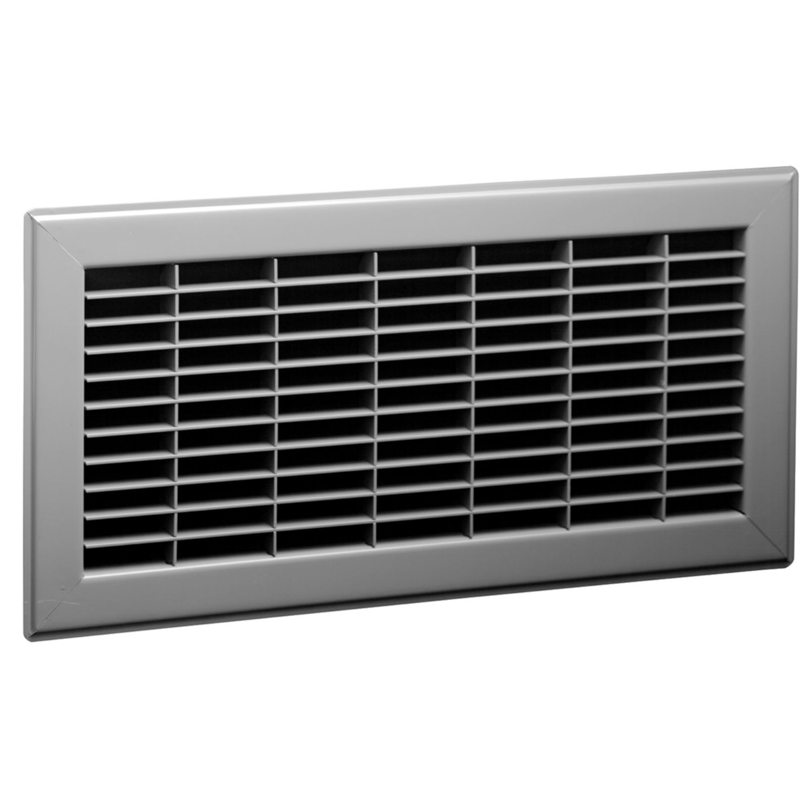 "Lima 16966 - #825 Return Floor Grille, Brown Finish, 20"" X 14"""