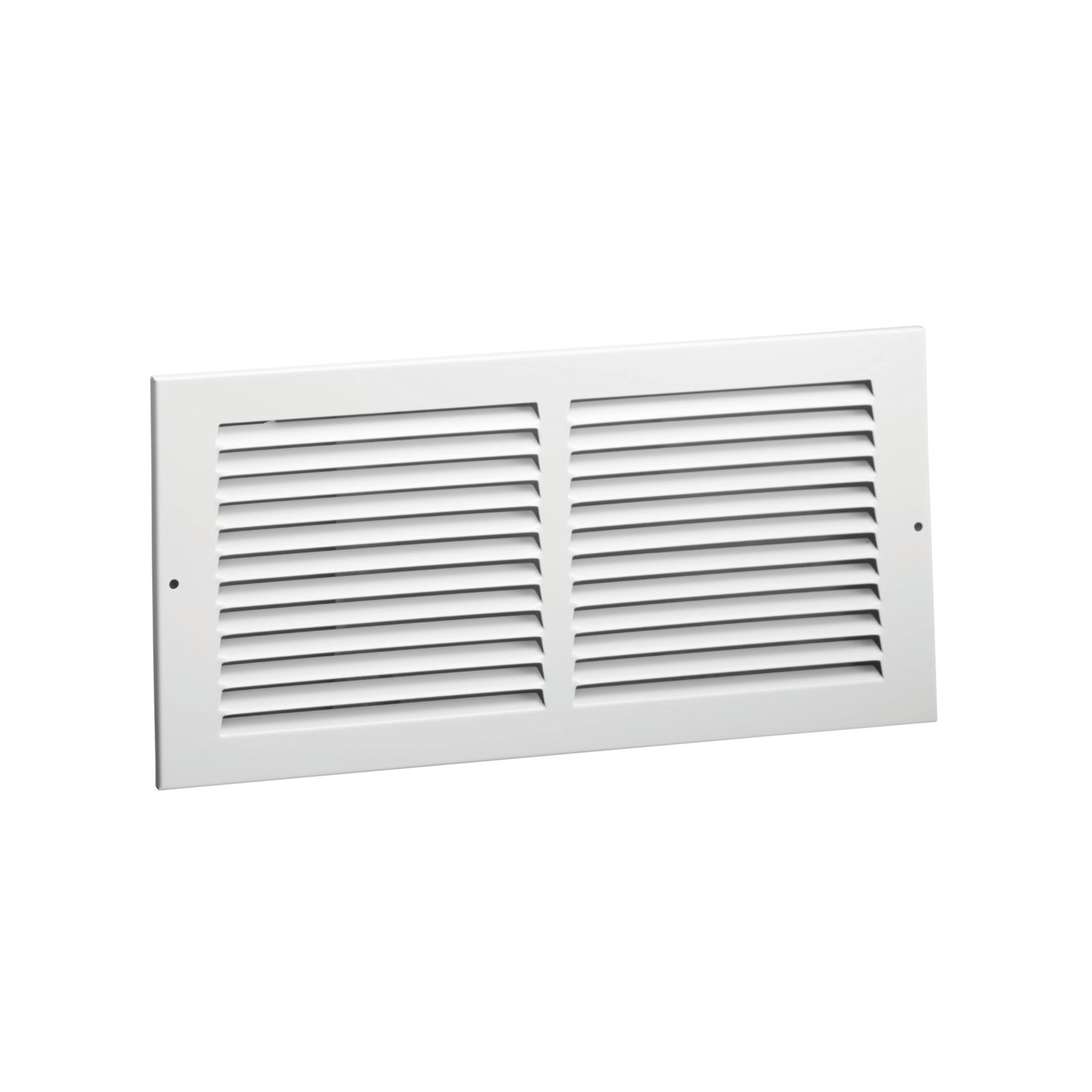 "Hart & Cooley 043365 - #672 Steel Return Air Grille, White Finish, 24"" X 12"""
