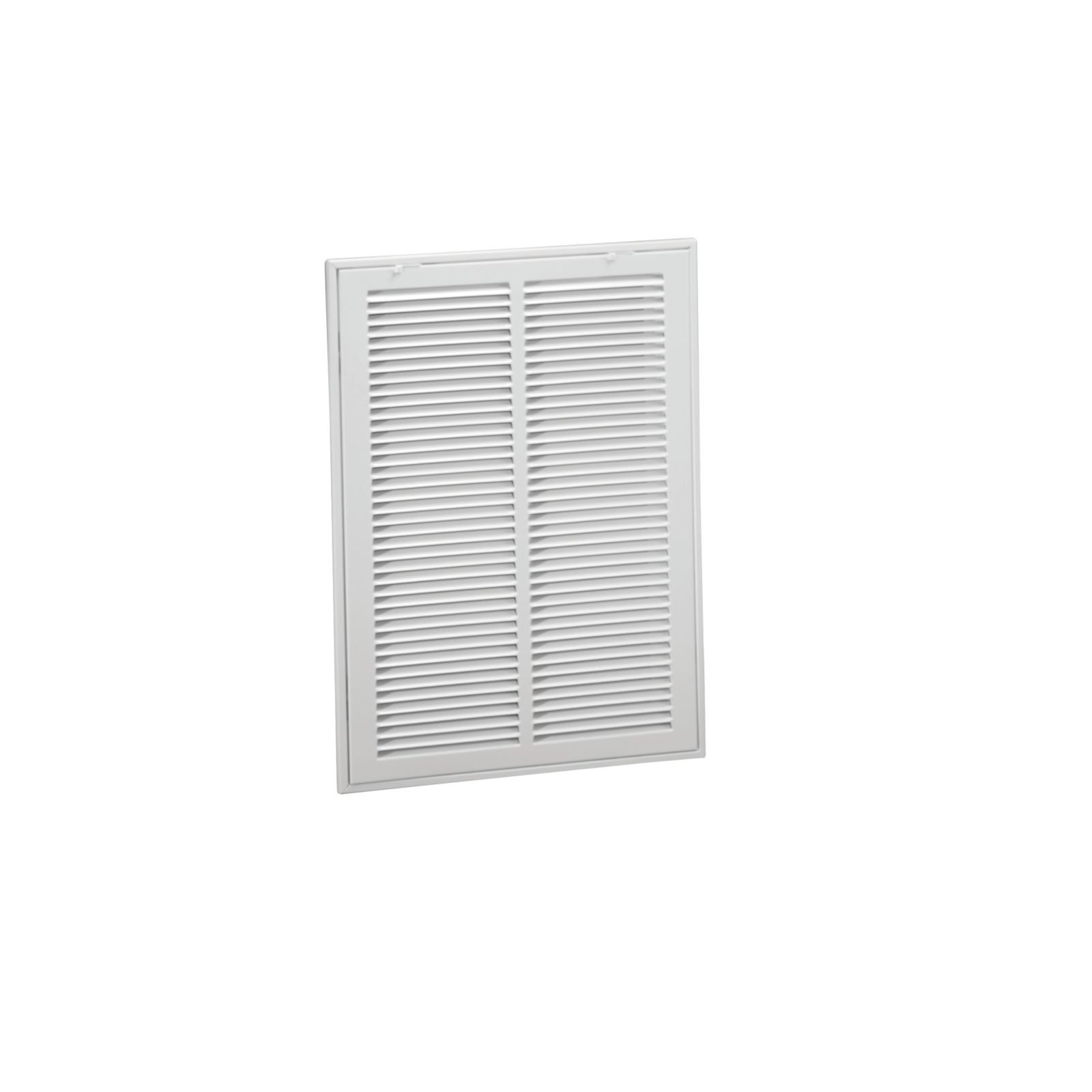 "Hart & Cooley 043519 - #673 Steel Return Air Filter Grille, White Finish, 20"" X 20"""