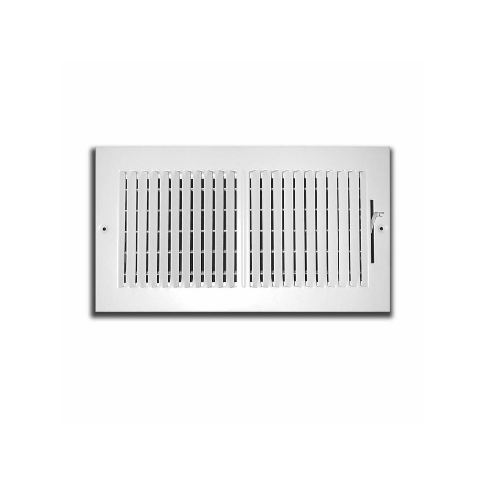"TRUaire 102M 12X04 - Stamped Steel 2-Way Wall/Ceiling Register, 12"" X 04"""