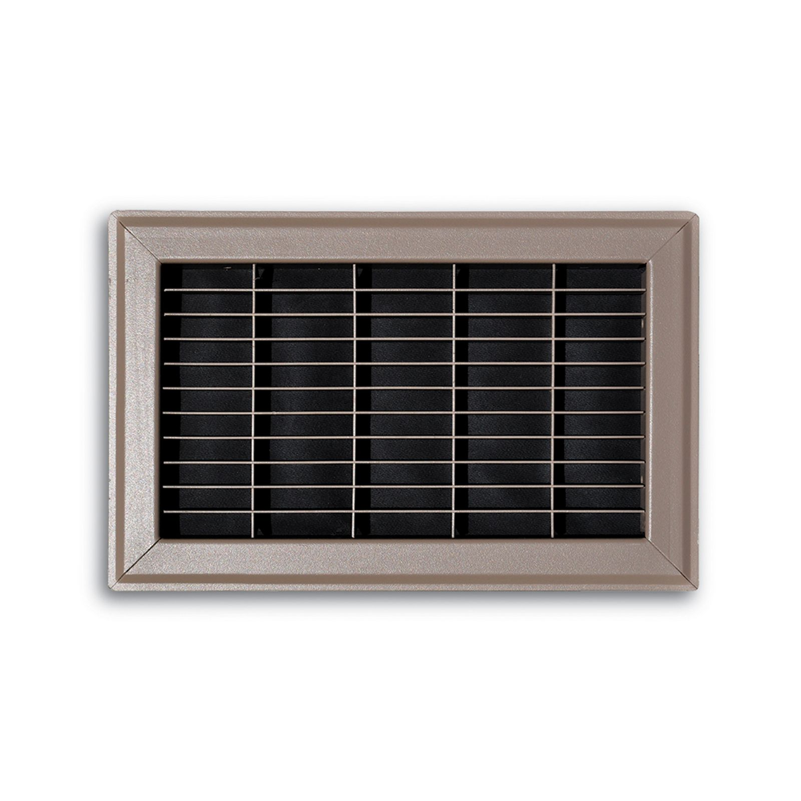 "TRUaire 154R 04X08 - Steel Heavy Gauge Floor Return Air Grille, Brown, 04"" X 08"""