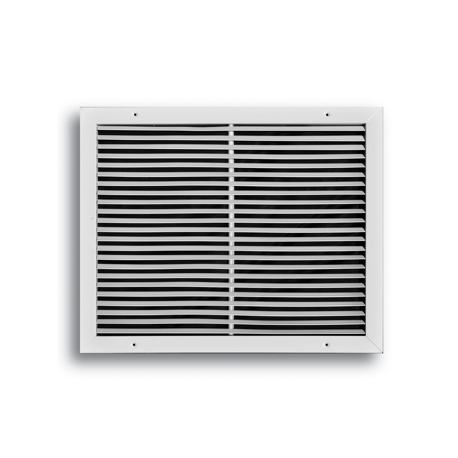 "TRUaire 270 12X08 - Steel Fixed Bar Return Air Grille, White, 12"" X 08"""