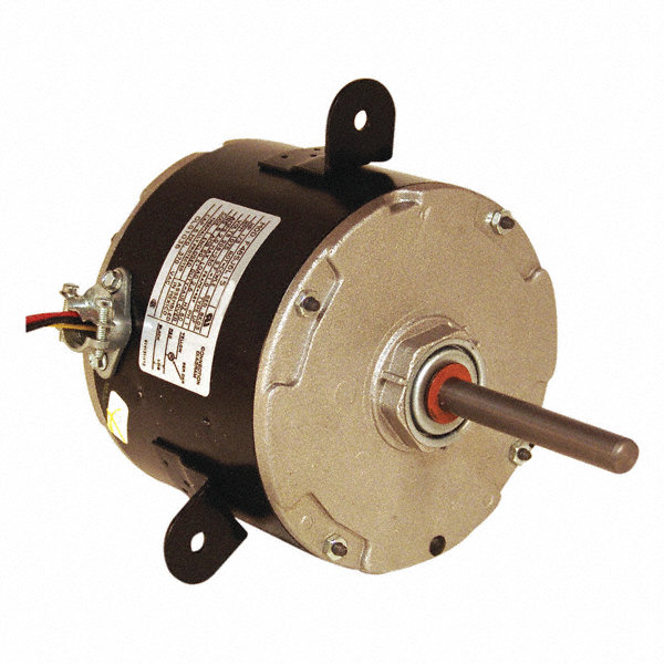CENTURY 1/3 HP Condenser Fan Motor, Permanent Split Capacitor, 1075 Nameplate RPM, 208-230 Voltage