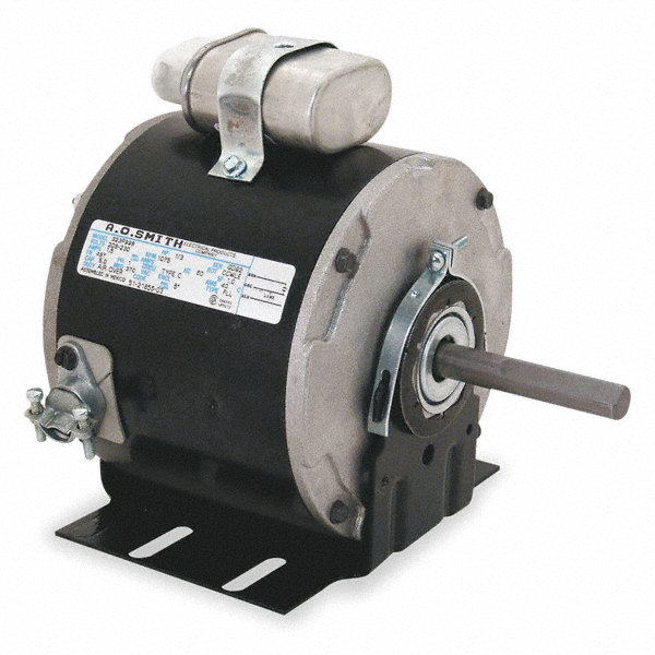 CENTURY 1/3 HP Condenser Fan Motor, Permanent Split Capacitor, 1625 Nameplate RPM, 208-230 Voltage