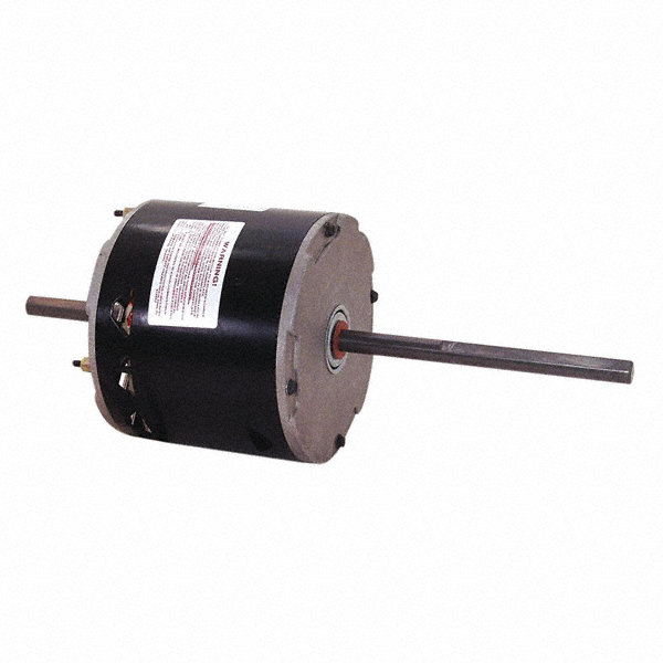CENTURY 1/3 HP Direct Drive Motor, Permanent Split Capacitor, 1425 Nameplate RPM, 208-230 VoltageFrame 48Y