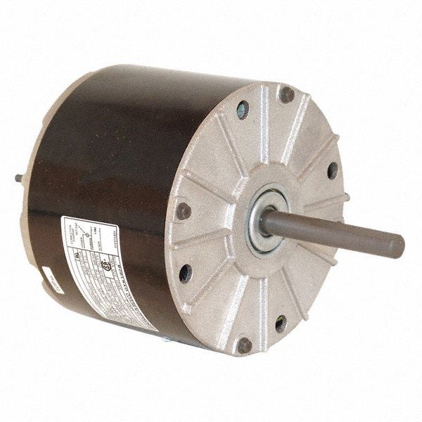 CENTURY 1/8 HP Condenser Fan Motor, Permanent Split Capacitor, 1075 Nameplate RPM, 208-230 Voltage