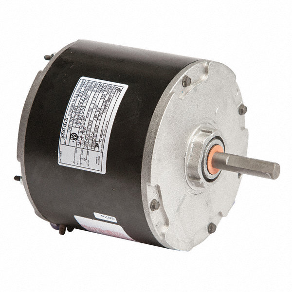 CENTURY 1/4 HP Condenser Fan Motor, Permanent Split Capacitor, 825 Nameplate RPM, 200-230 VoltageFrame 48Y
