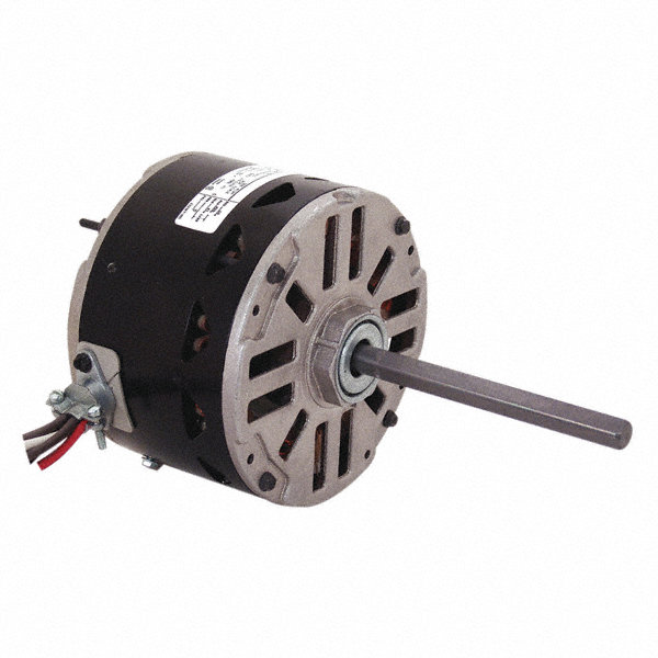 CENTURY 1/3 HP Condenser Fan Motor, Permanent Split Capacitor, 1075 Nameplate RPM, 230 VoltageFrame 48Y