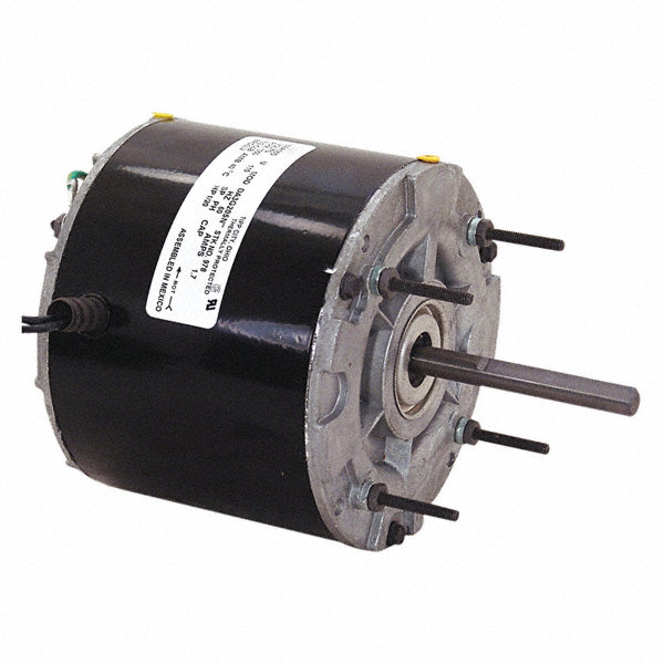 CENTURY 1/20 HP Direct Drive Motor, Shaded Pole, 1050 Nameplate RPM, 115 VoltageFrame 42