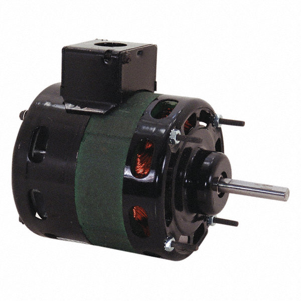 CENTURY 1/15 HP Direct Drive Motor, Shaded Pole, 1550 Nameplate RPM, 115 VoltageFrame 4.3