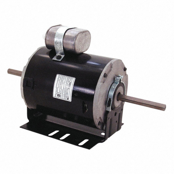CENTURY 1/3 HP Room Air Conditioner Motor, Permanent Split Capacitor, 1625/1350 Nameplate RPM, 208-240/220 V