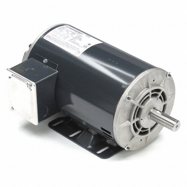 5 HP Direct Drive Motor, 3-Phase, 3450 Nameplate RPM, 208-230/460 VoltageFrame 56HZ