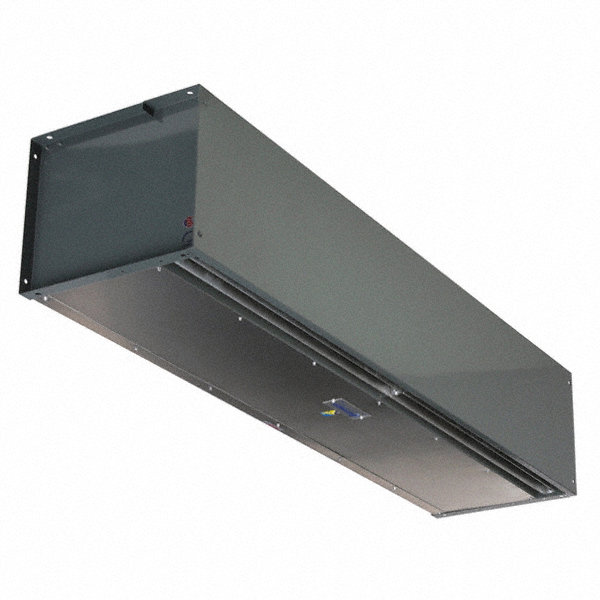 BERNER High Velocity BERNER Air Curtain, 6 ft. Max. Door Width, 14 ft. Max. Mount Ht., 65 dBA @ 10 Feet, 5000 fpm