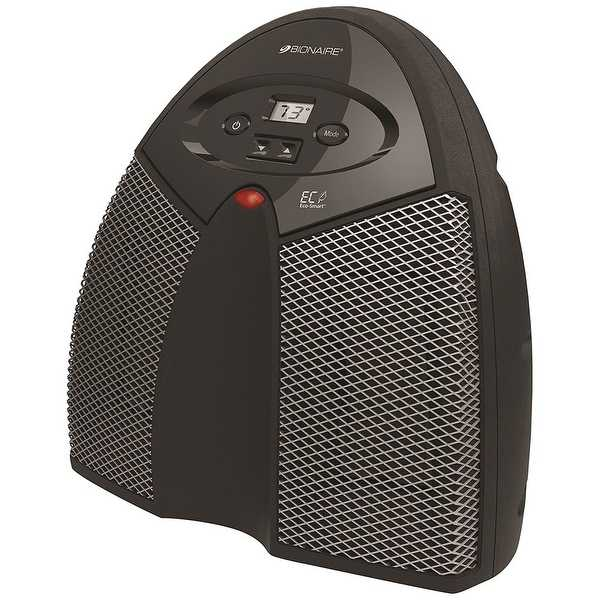 Bionaire BCH4130-NUM 1500W Twin Ceramic Heater in Black