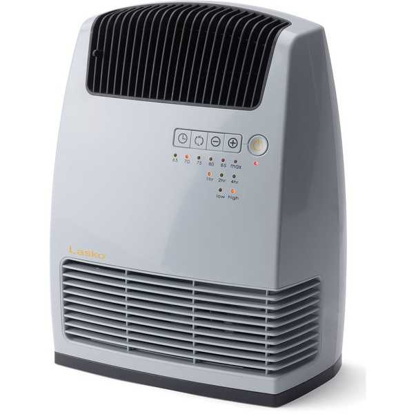 Lasko CC13251 Electronic Ceramic Heater with Warm Air Motion Technology - Black