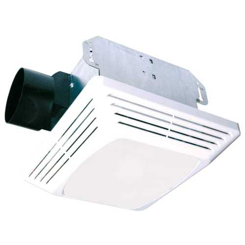 Air King ASLC70 70 CFM HVI Certifified 4.0 Sone Exhaust Fan with Light from the Advantage Collection