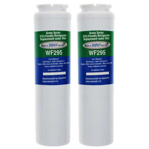 Aqua Fresh Replacement Water Filter Cartridge For Kenmore 73502 Refrigerators - 2 Pack