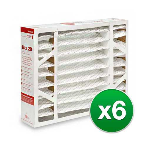 Replacement Pleated Air Filter for for Honeywell 16x20x5 MERV 11 (6-Pack)