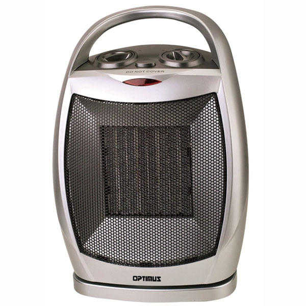 Chef'sChoice 97078897M Portable Oscillating Ceramic Heater with Thermostat