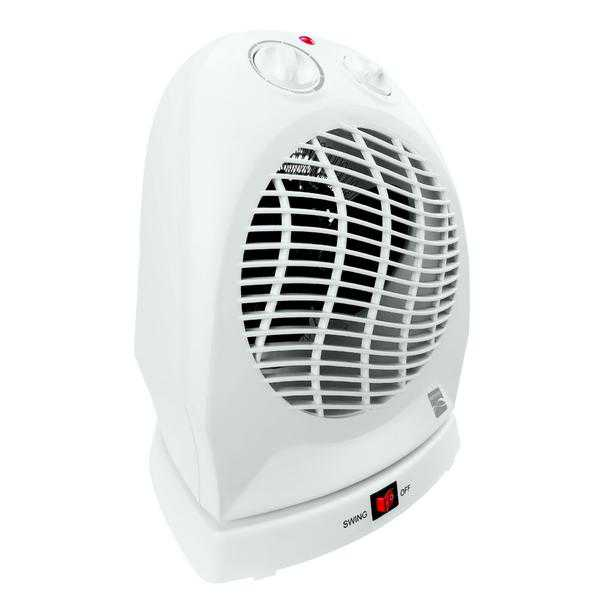 Kenmore 92050 Oscillating Fan-Forced Heater - White