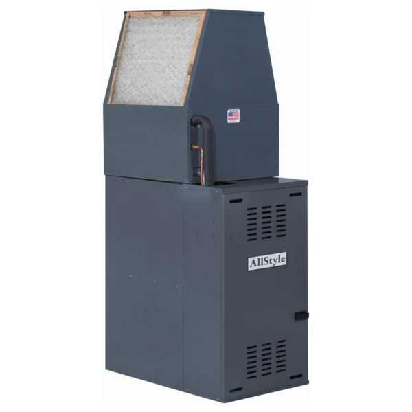 Allstyle - DFM4D-0 - Downflow Mobile Home Air Handler 1/2 HP Motor