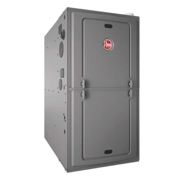 Rheem - R95PA0401317MSA - Classic Series 95% AFUE, 42K BTU, 1 Stage, Multi-Position Gas Furnace With PSC Motor