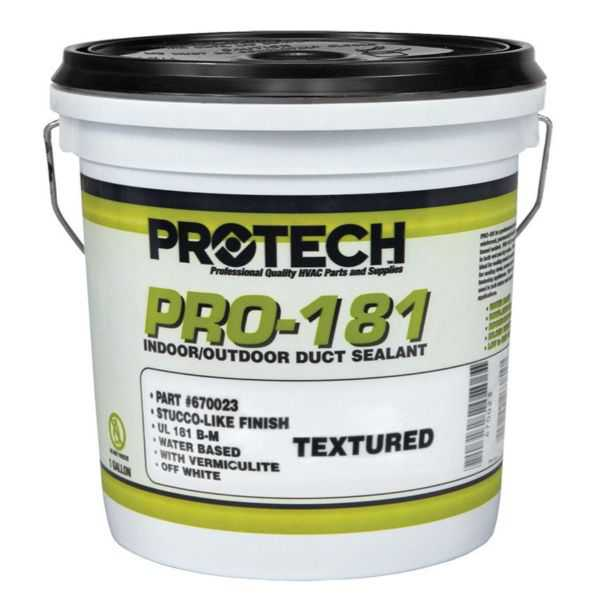 PROTECH 670023 - 181 Textured Off-White Mastic - 1 gallon