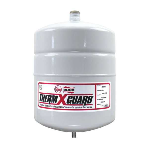Rheem RRT-5 - RRT Therm-X-Guard Expansion Tank - 2.5 gallon
