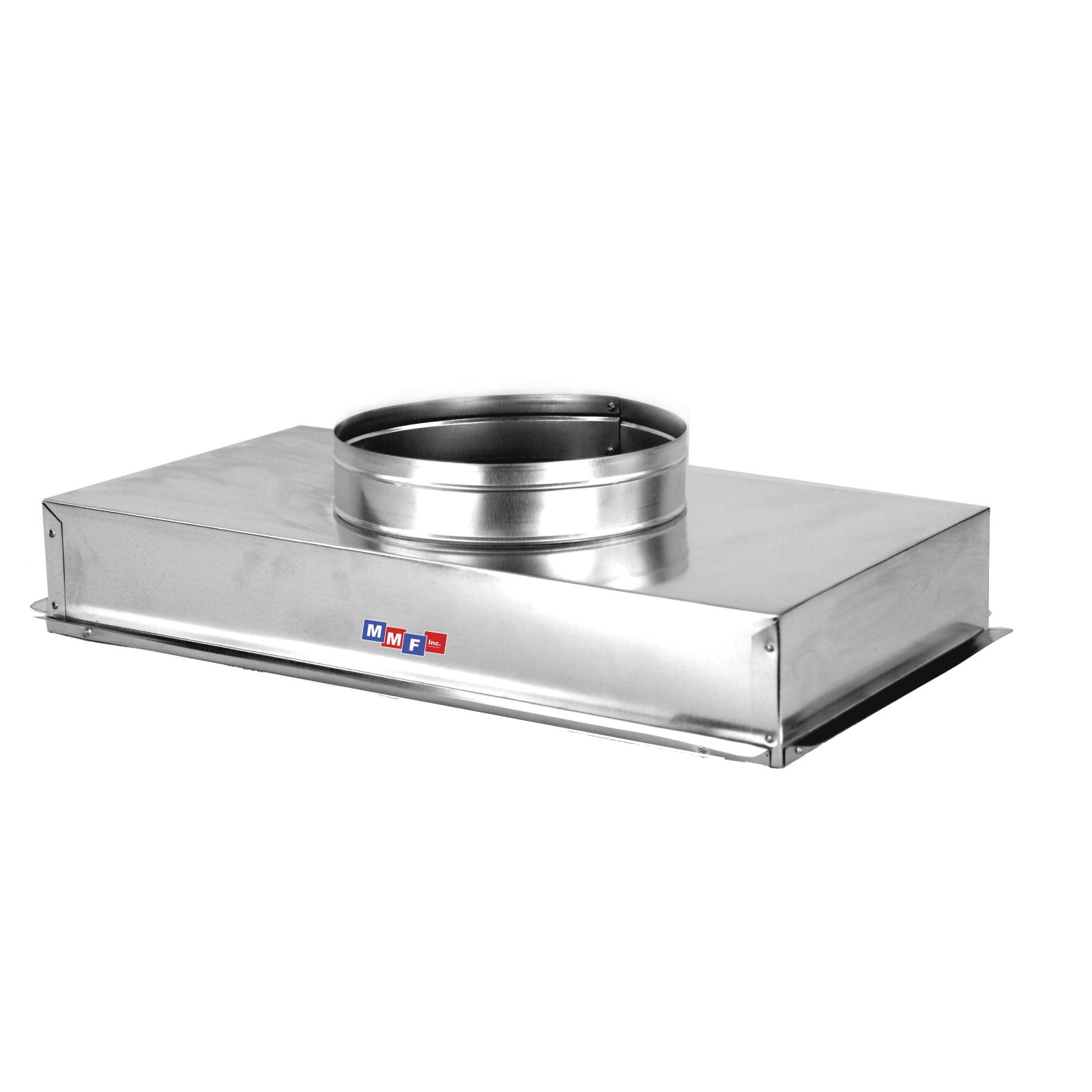 "Modular Metal ACRH2514AS - Return Air Can - 28 Gauge - Raw - Seal All Seams25 1/4"" X 14 1/4"" Uninsulated - 4"" High"