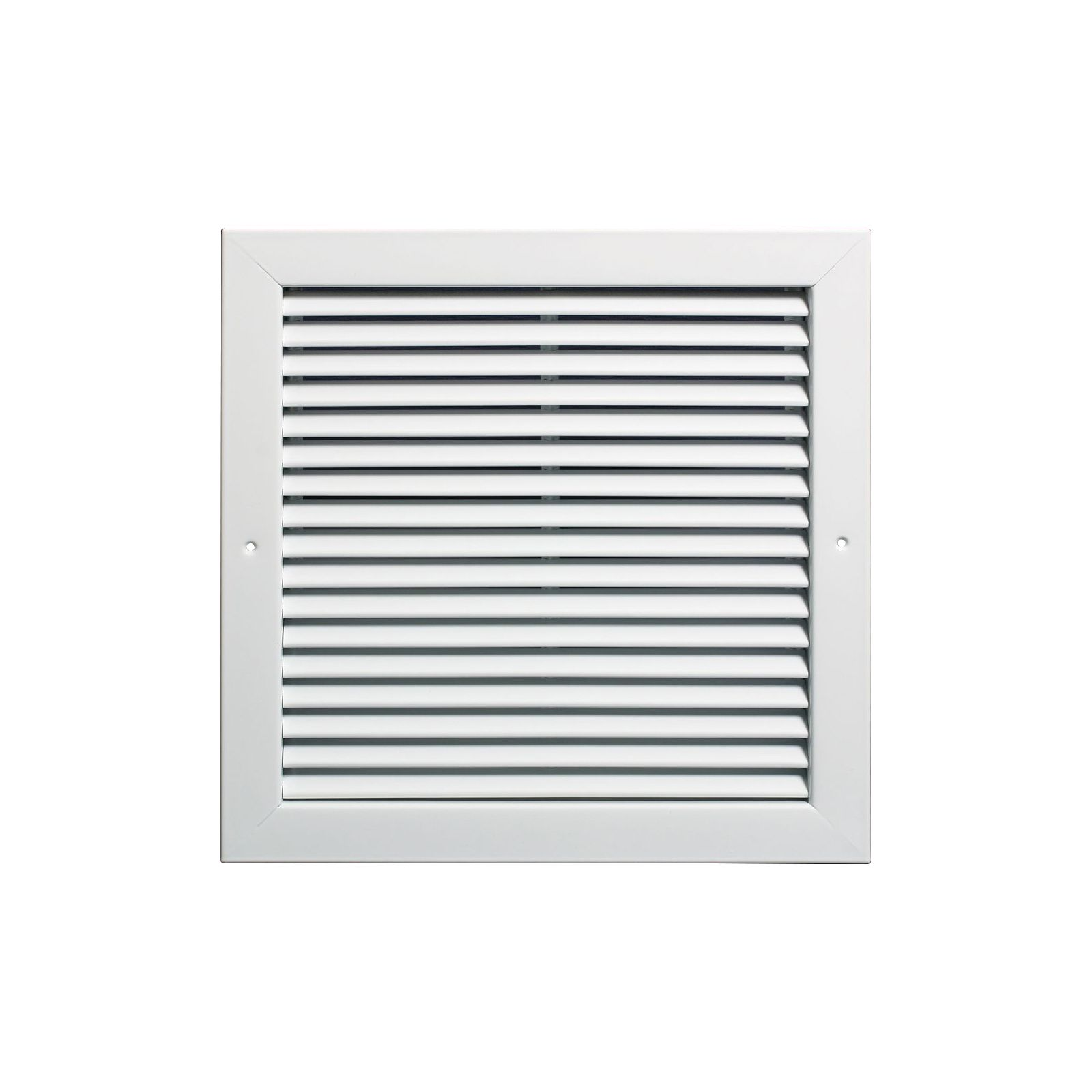 "Aluminum Return Air Grille, 24"" X 8"" White"