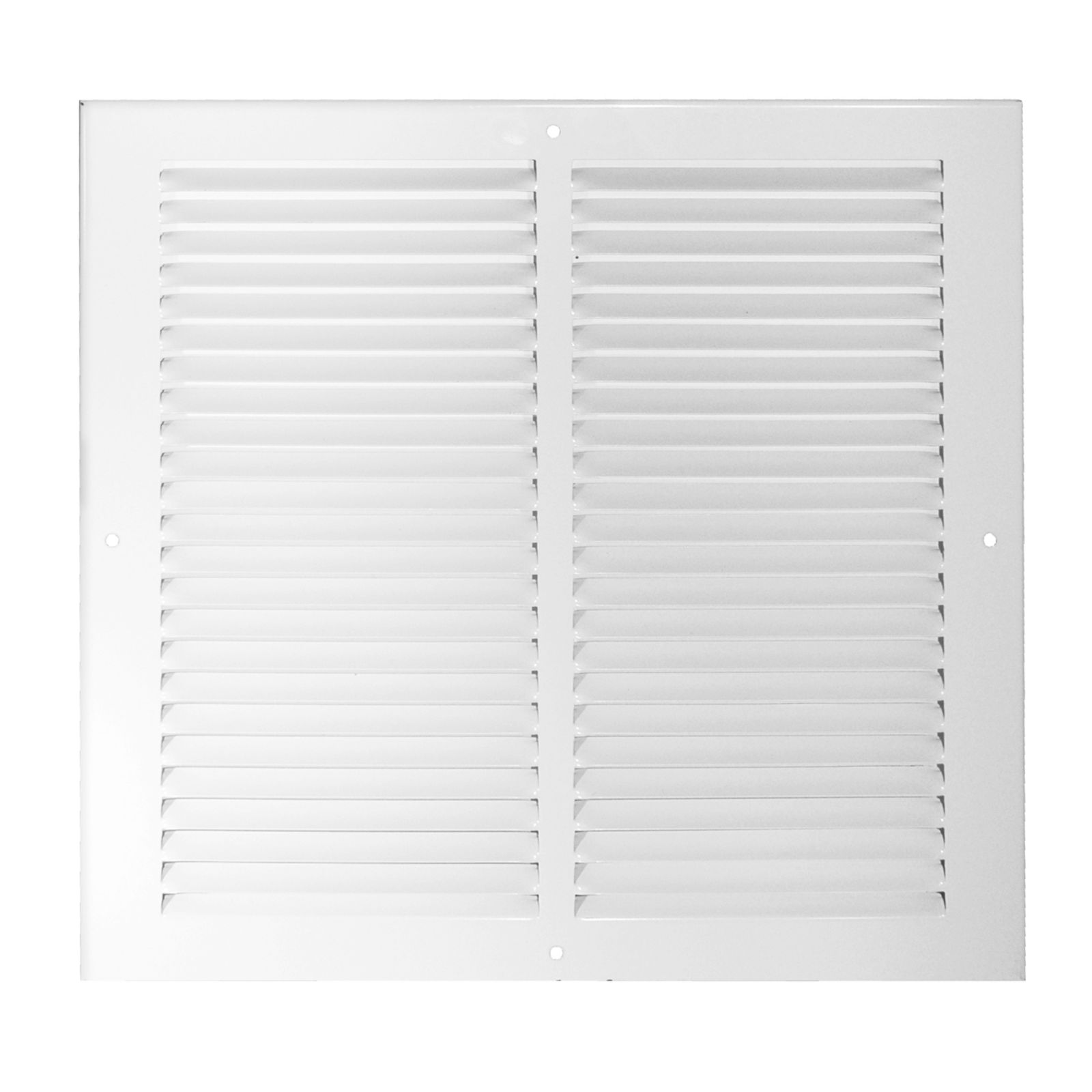 "Grille Tech RAG16X20W - Steel Return Air Grille, 16"" X 20"" White"