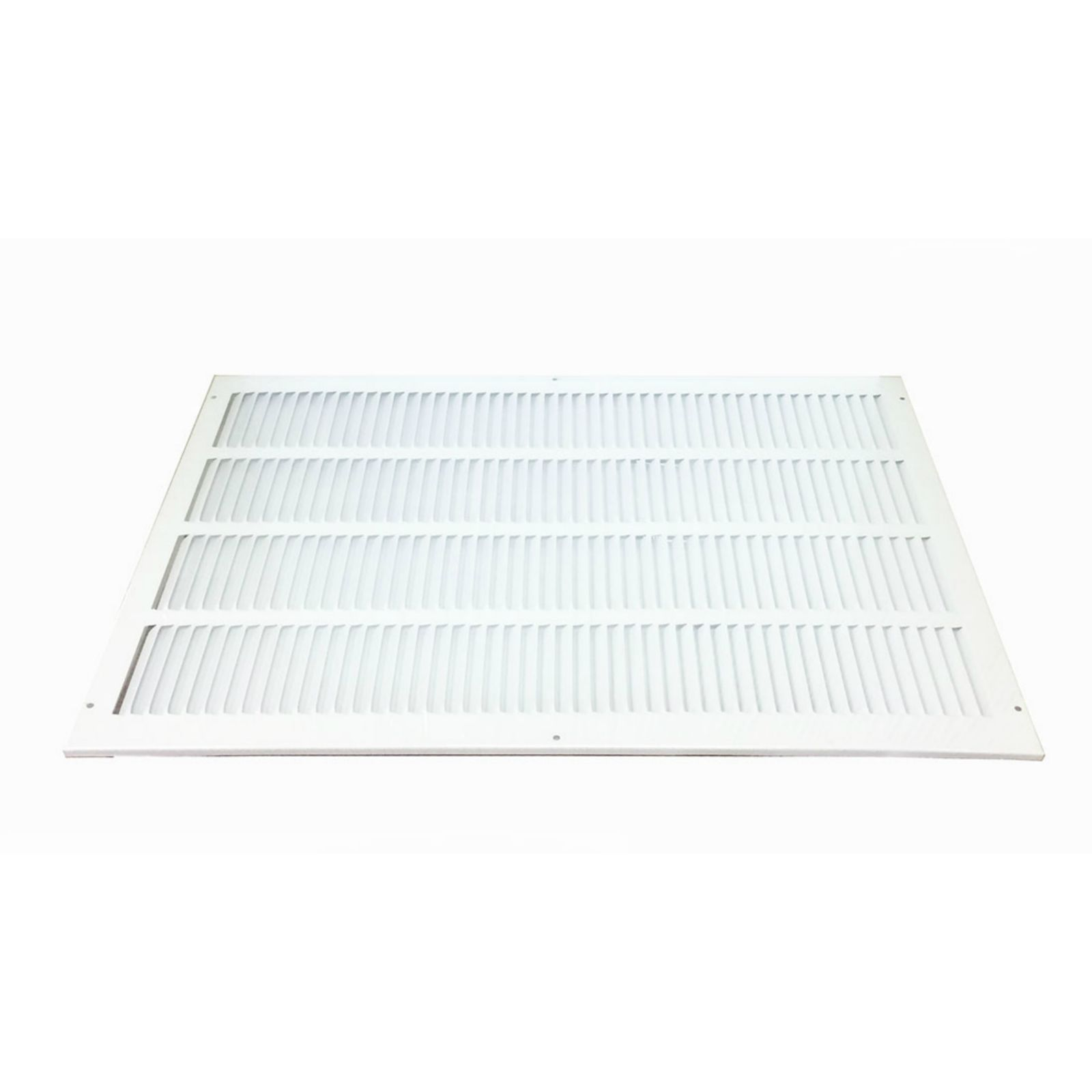 "Grille Tech RAG24X12W - Steel Return Air Grille,  24"" X 12"" White"
