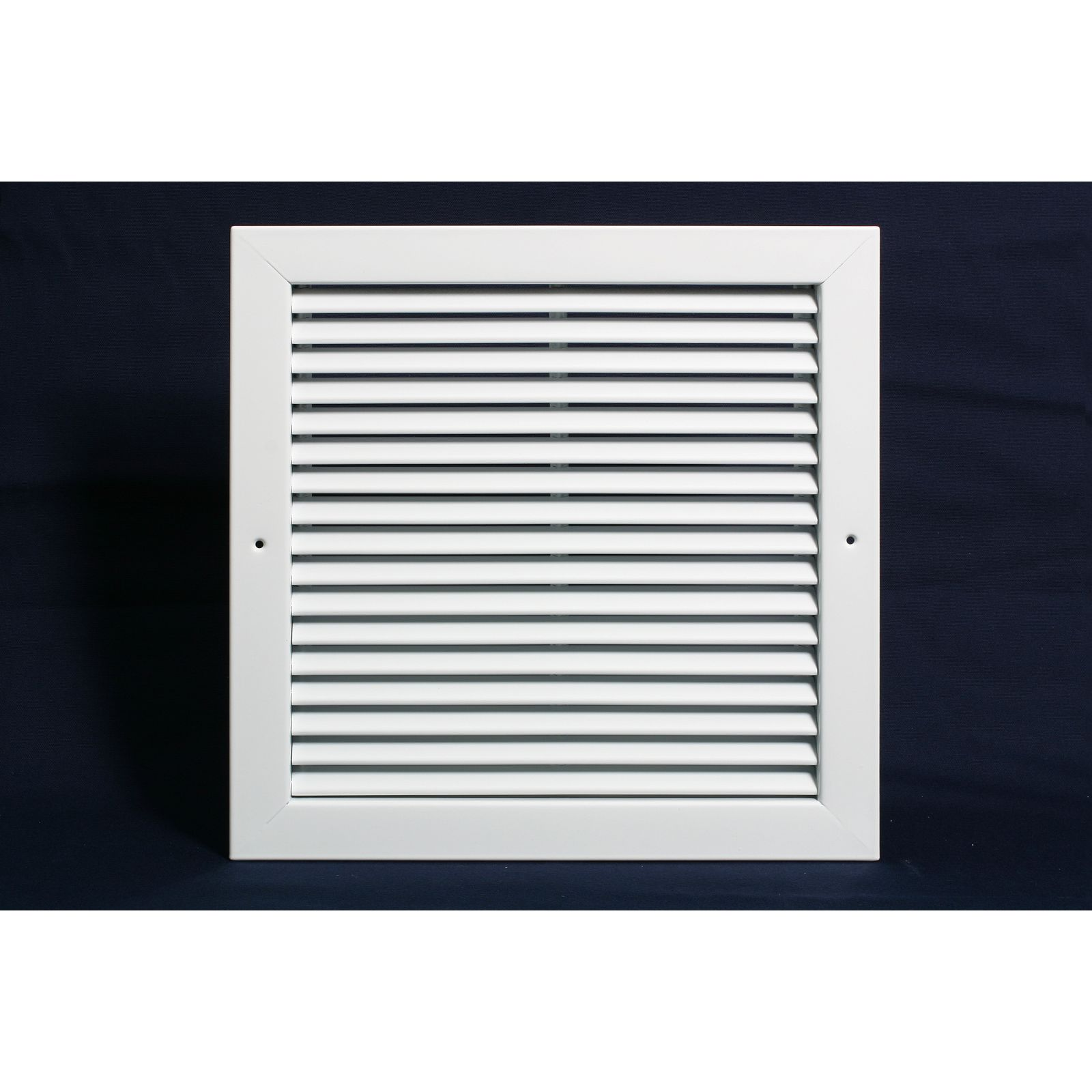 "Grille Tech RAT2424 - Aluminum T-Bar Return Air Grille 24"" X 24"" White"