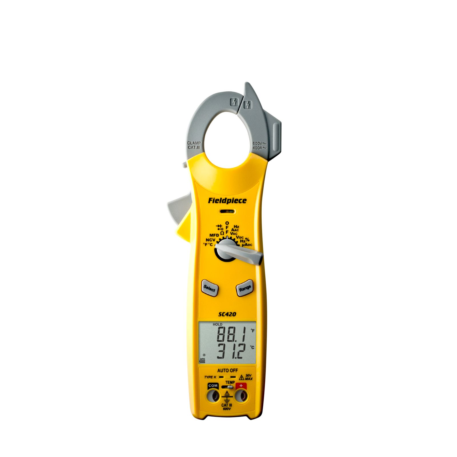 Fieldpiece SC420 - SC400 Series Essential Clamp Meter